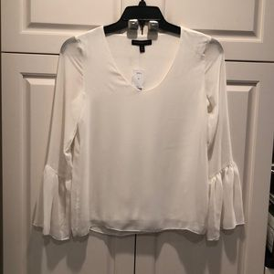 Banana republic Cream long sleeves top size XS